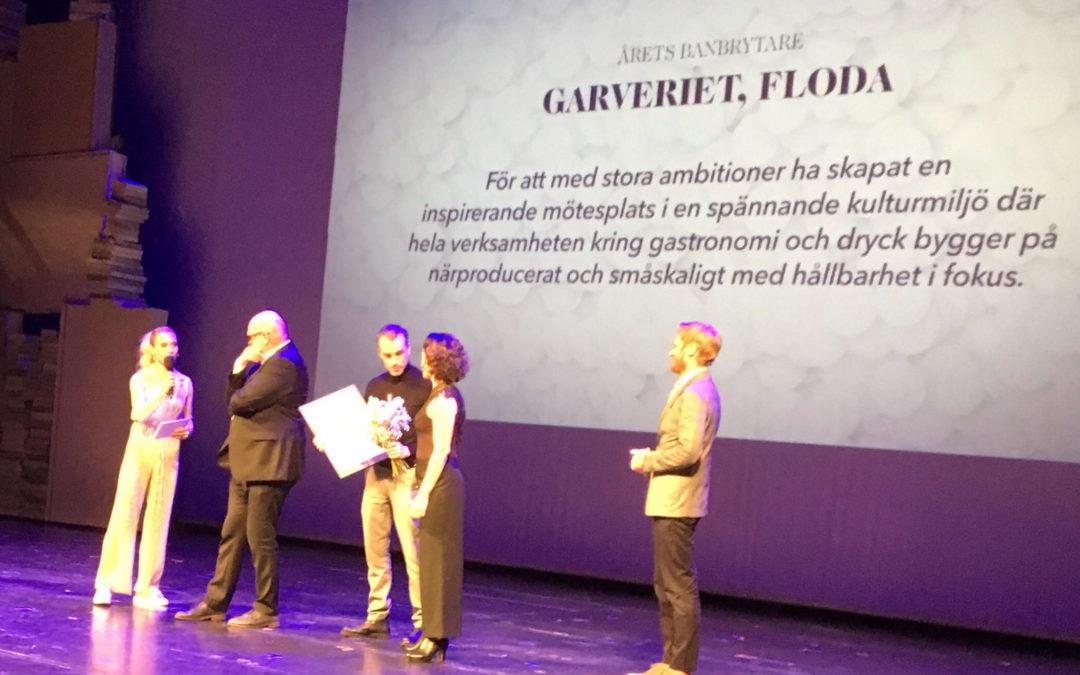 Garveriet vann pris som Årets Banbrytare på årets White Guide gala
