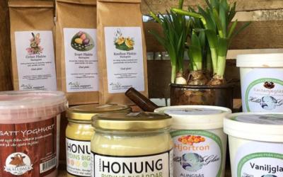 Kom och träffa våra lokala producenter på vår matmässa