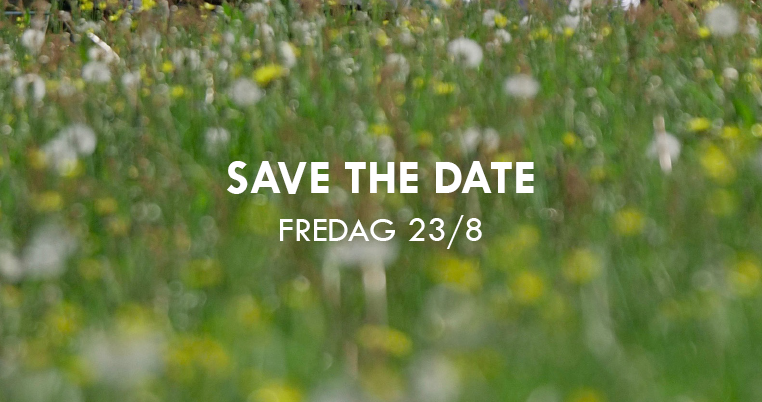 Save the date – Huset Fullt 23 augusti