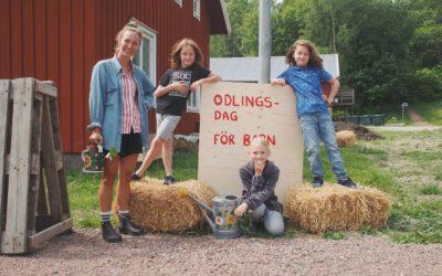 Missa inte våra odlingsdagar för barn