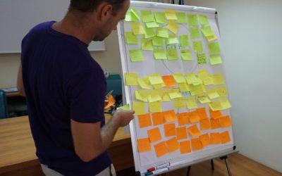 Internationell kurs i entreprenörskap för ungdomar hålls på Garveriet