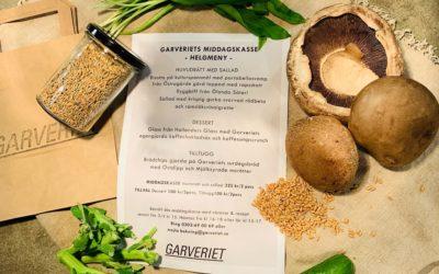 Laga helgmiddag på Garveriets vis med vår middagskasse