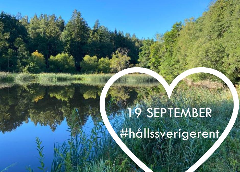 Håll Sverige Rent- 19 SEPTEMBER
